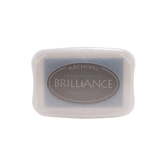 Brilliance Pigment Ink Pad - Starlite Black