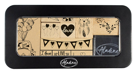Aladine Love Stamp Set