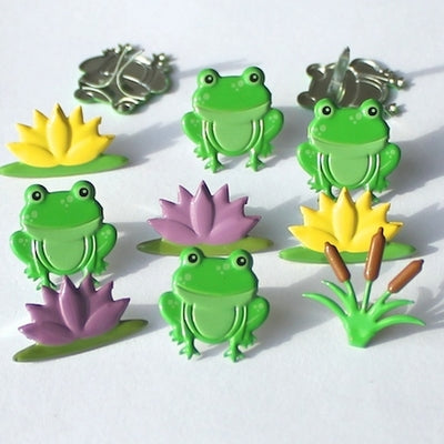 Eyelet Outlet Frog Mix Brads