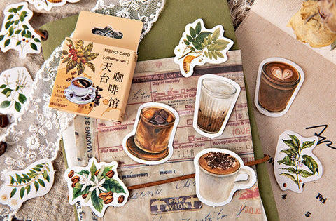 Coffee Stickers - Boxed