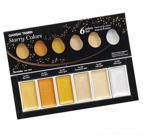 Gansai Tambi Starry WaterColors