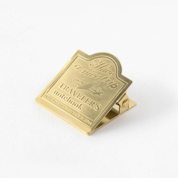 Traveler's Company - 030 Brass Airplane Clip