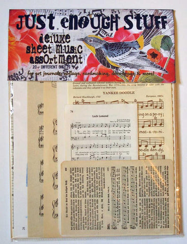 LB Deluxe Sheet Music Assortment Collage Pack
