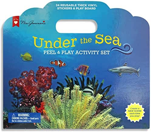 Mrs. Grossman Under The Sea Peel & Play Activity Set