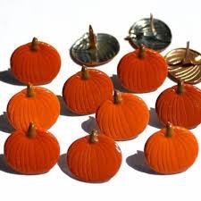 Eyelet Outlet Pumpkin Brads
