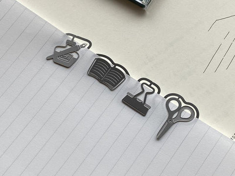 Midori Etching Clip E Clips - Stationery