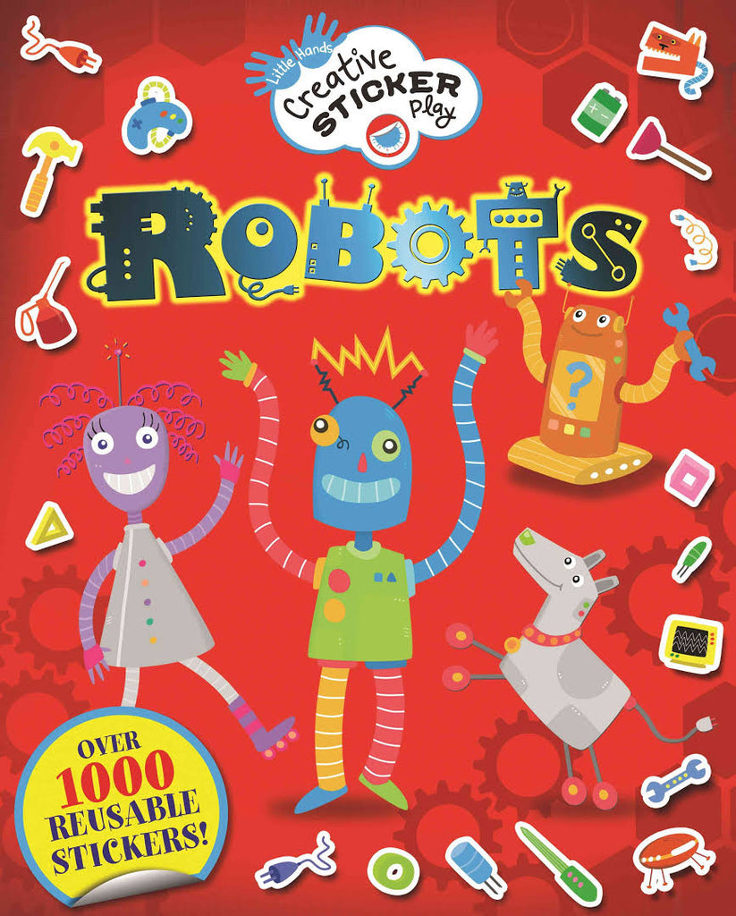 Creative Sticker Play Robots