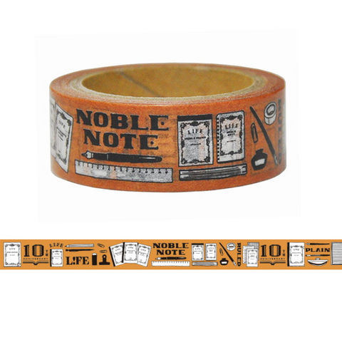 10th Anniversary Noble Note Tape- Brown