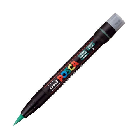 Posca PC-350F Brush Paint Marker - Green