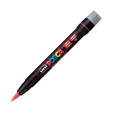 Posca PC-350F Brush Paint Marker - Red