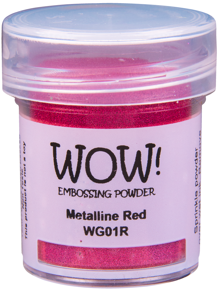 WOW! Metalline Red Embossing Powder