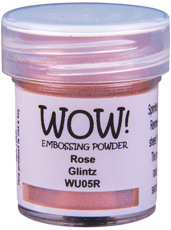 WOW! Rose Glintz Embossing Powder