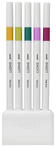 EMOTT Ever Fine Pens - Set of 5 'Retro'