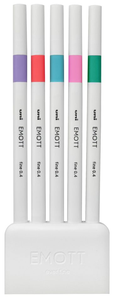 Emott Ever Fine Pens - Set of 5 'Candy Pop'