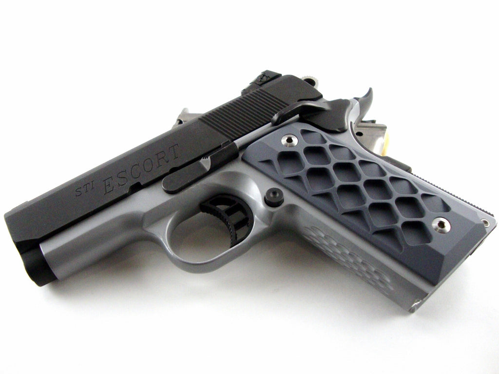 1911 compact grips grey