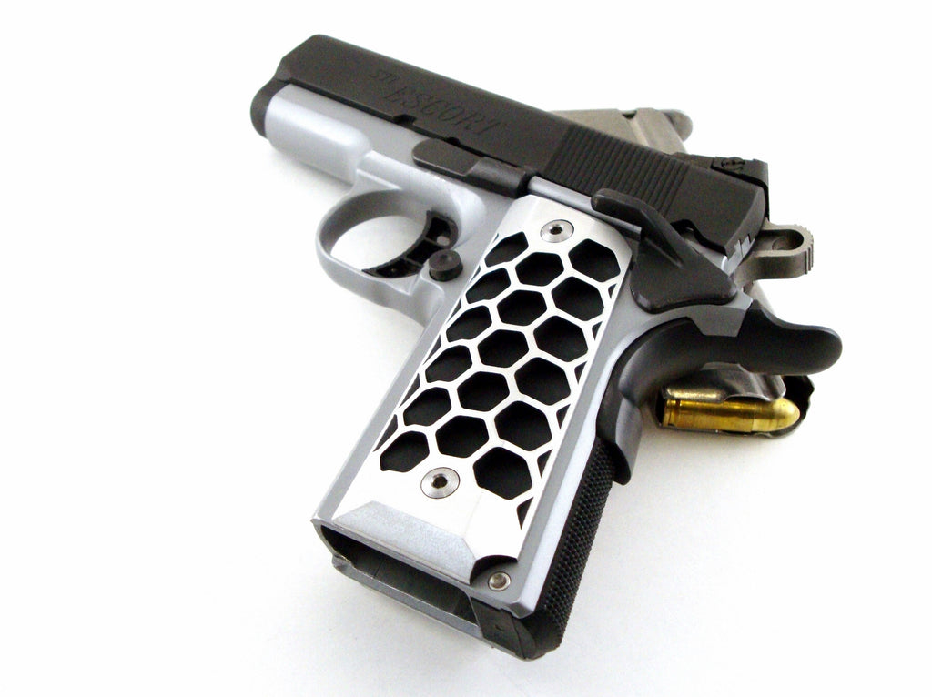 1911 compact grips aluminum
