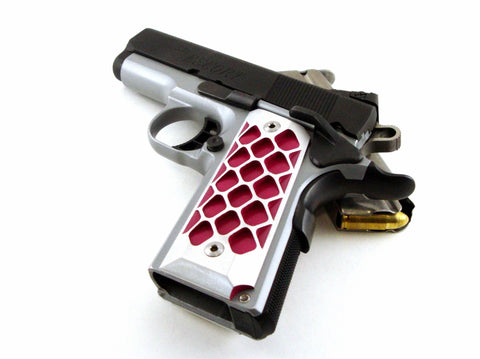 1911 compact grips magenta