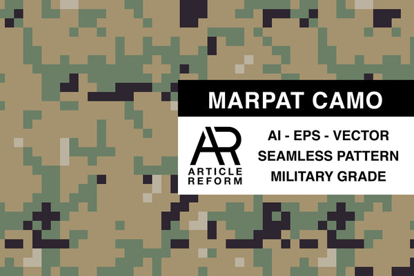 MARPAT Seamless Vector Pattern