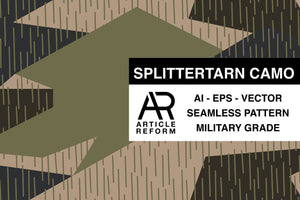 Splittertarn Seamless Vector Pattern