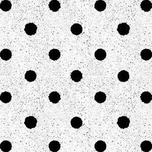 Drip Dots Vector Pattern