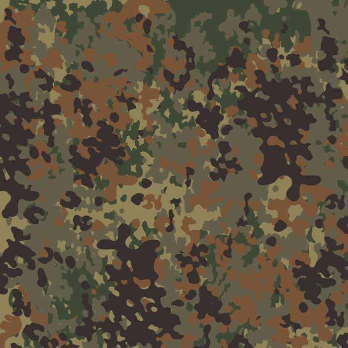 Flecktarn Vector Pattern