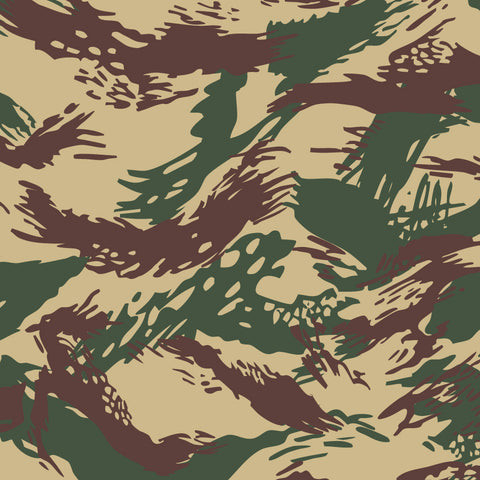 Greek Lizard Camouflage Vector Pattern