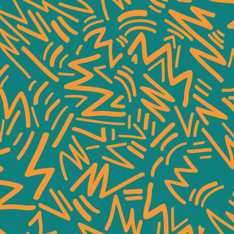 Staycation Vector Pattern