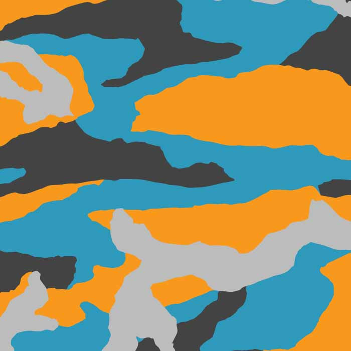 Tear Camo Vector Pattern