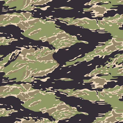 Tiger Stripe LLS Vector Pattern
