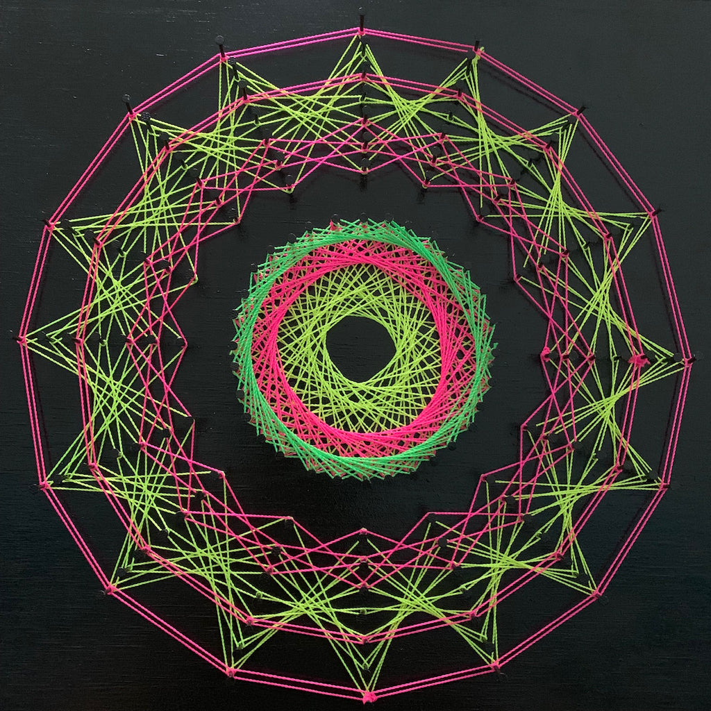 STRING ART MANDALA