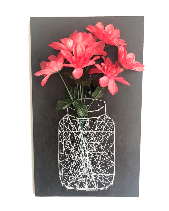 STRING ART FLORERO