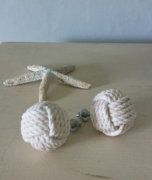 Monkey Fist Drawer Pulls - Set of Two