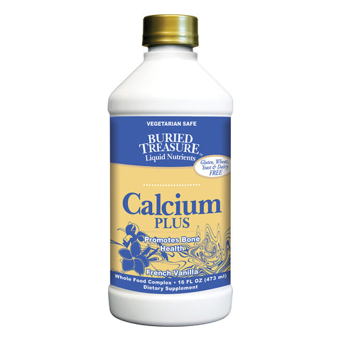 Buried Treasure Calcium Plus French Vanilla - 16 fl oz