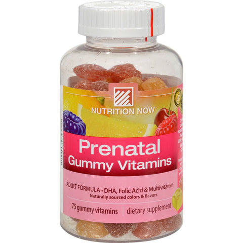 Nutrition Now Prenatal Gummy Vitamins - 75 Gummies
