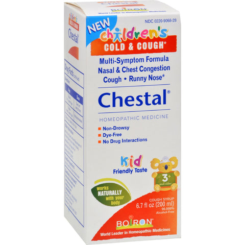 Boiron Children's Chestal Cough and Cold - 6.7 oz