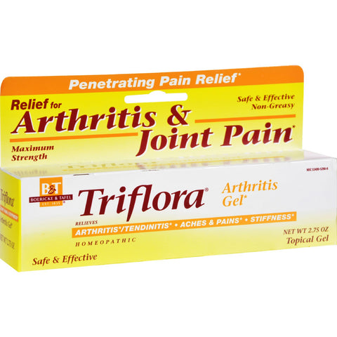 Boericke and Tafel Triflora Arthritis Gel - 2.75 oz