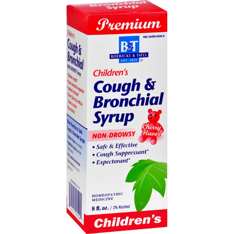 Boericke and Tafel Children's Cough and Bronchial Syrup - 8 fl oz