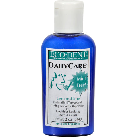 Eco-Dent Toothpowder Daily Care - Lemon Lime - 2 oz