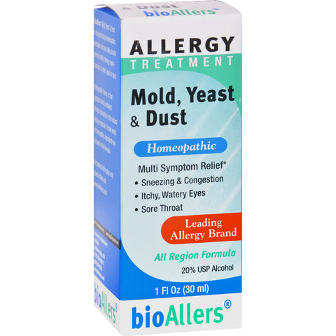 Bio-Allers Allergy Treatment Mold Yeast and Dust - 1 fl oz