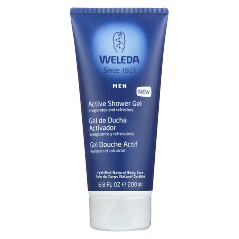 Weleda Shower Gel - Men Active - 6.8 oz
