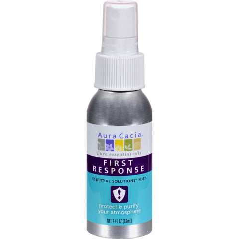 Aura Cacia Essential Solutions Mist First Response - 2 fl oz
