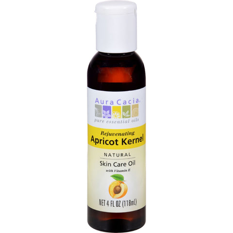 Aura Cacia Natural Skin Care Oil Apricot Kernel - 4 fl oz