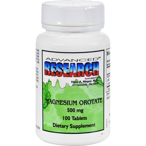 NCI Dr. Hans Nieper Magnesium Orotate - 500 mg - 100 Tablets