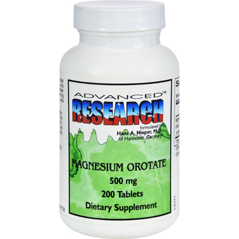 NCI Dr. Hans Nieper Magnesium Orotate - 500 mg - 200 Tablets