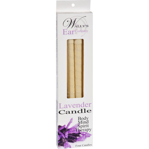 Wally's Candle - Lavender - 4 Candles