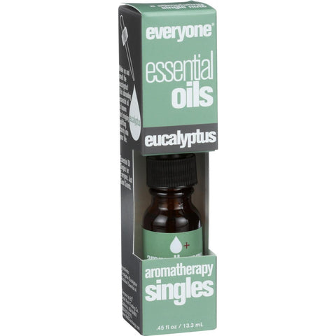 EO Products Everyone Aromatherapy Singles - Essential Oil - Eucalyptus - .5 oz