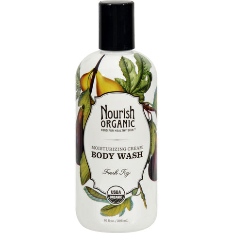 Nourish Organic Body Wash - Fresh Fig - 10 fl oz