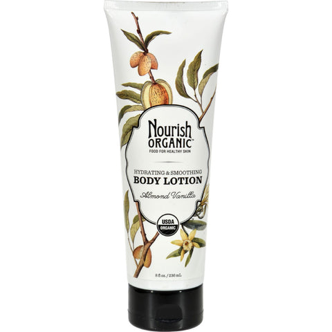 Nourish Organic Body Lotion Almond Vanilla - 8 fl oz