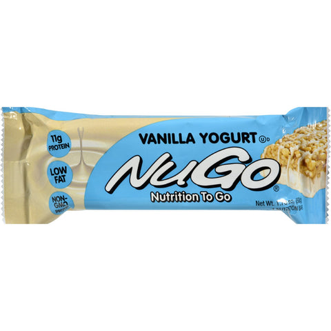 Nugo Nutrition Bar - Vanilla - Case of 15 - 1.76 oz