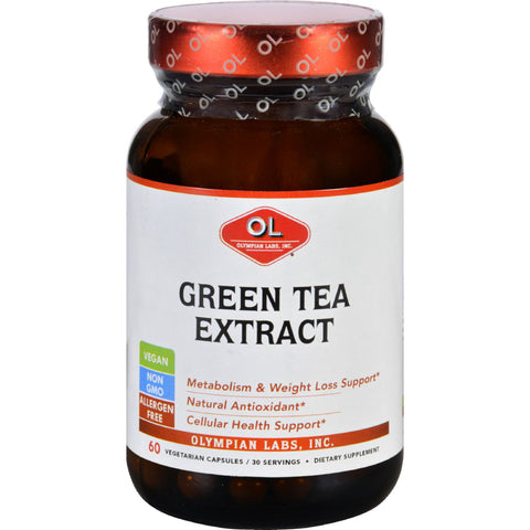 Olympian Labs Green Tea Extract - 60 Vegetarian Capsules